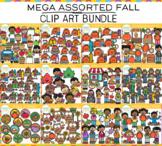 Fall Mega Assorted Clip Art GROWING Bundle