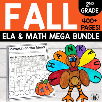 Fall Bundle for Second Grade