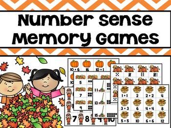 Fall Memory Games