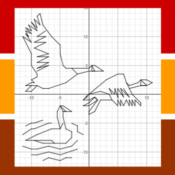 Fall Migration - A Math-Then-Graph Activity - Finding Vertices