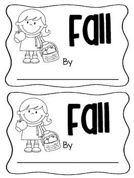 Fall Mini Book