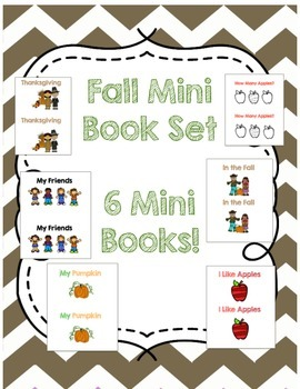 Fall Mini Book Set! {Emergent and Early Readers}