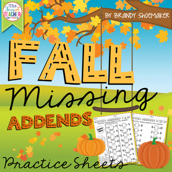 Missing Addends: Fall