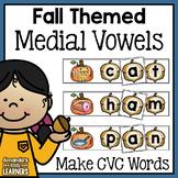 Fall CVC Word Building