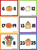 Fall Missing Number Scoot FREEBIE