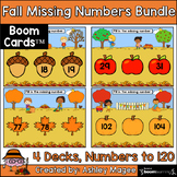 Fall Missing Numbers Bundle (Before, After, Between) Up to