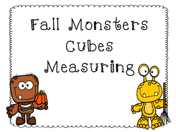Fall Monsters Cube Measuring
