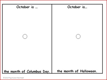 Fall Months Bundle: September Is, October Is, November Is