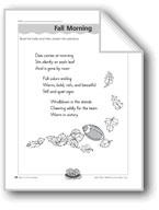 Fall Morning (Haiku)