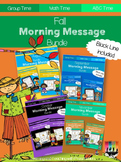 Fall Morning Message Bundle