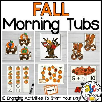 Fall Morning Tubs