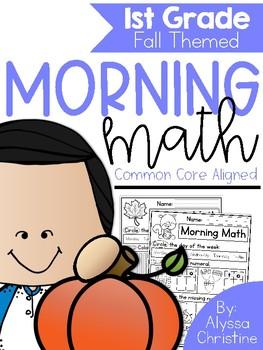 Fall Morning Work 1st Grade