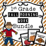 Fall Morning Work Bundle [September, October, & November]