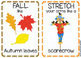 Fall Movement Cards (Transition Activity or Brain Breaks)