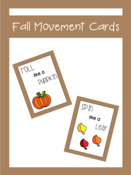 Fall Movement Cards | LCI Movement