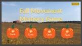 Fall Movement Memory Game
