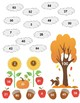 Fall Multiplication Bump Game- 10 sided dice