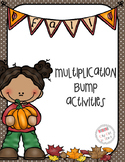 Fall Multiplication Bump Game (Roll and Cover) 3.OA.7