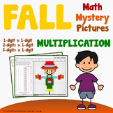 Fall Multiplication Worksheets, Autumn Math Activities
