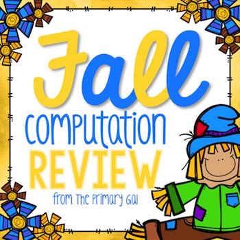 Fall Multiplication & Division Computation Review
