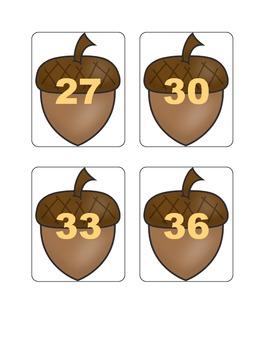 Fall Multiplication Fact Games ( x 3)