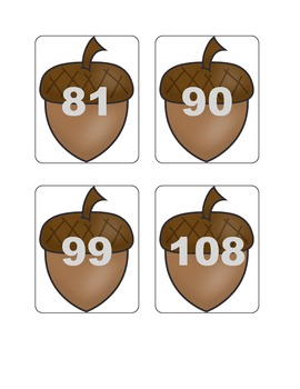 Fall Multiplication Fact Games ( x 9)