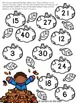 Fall Multiplication Facts Bump Game