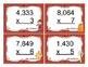 Fall Multiplication (Multi-Digit x 1 Digit Numbers) Task Cards