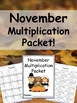 Fall Multiplication Packets Mega Bundle {Just Print & Go!}
