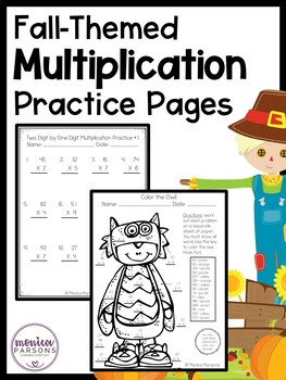 Fall Multiplication Practice