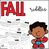 Fall Multiplication Riddles