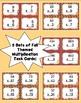 Fall Multiplication Task Card Bundle