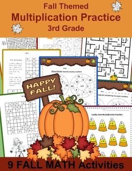 Fall Worksheets: Math Mazes, Targets and more