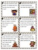 Fall Multiplication and Division Word Problem Task Cards