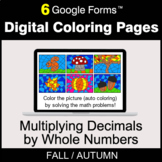 Fall: Multiplying Decimals by Whole Numbers - Digital Colo