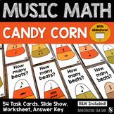 Fall Music Activities- Candy Corn Thanksgiving Music Activities