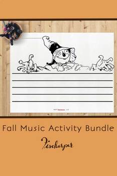 Fall Music Activity Bundle