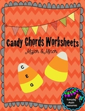 Fall/Halloween Music Theory Candy 'Chord' Building Bundle
