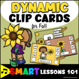 Dynamic Clip Cards Fall Music Centers: Music Dynamic Activity: Back to School