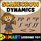 Scarecrow Dynamics Fall Music Dynamics Game: Music Activity Music Game