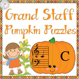 Fall Music Game: Pumpkin Grand Staff