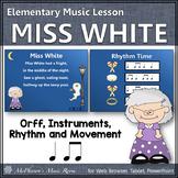 Fall Music Lesson Plan ~ Miss White {Eighth Notes & Quarte