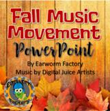 Fall Music Movement