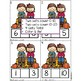 Fall Mussing Number Math Center / Activity
