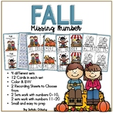 Fall Missing Number Math Center / Activity