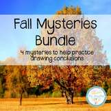 Drawing Conclusions: Fall Mystery Bundle