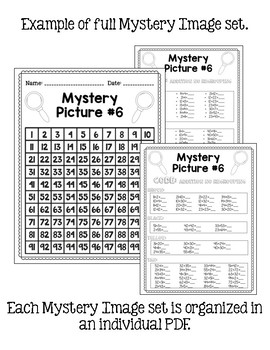 Fall Mystery Pictures: 2-digit Addition