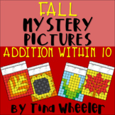 Fall Mystery Pictures Addition Within 10 ~ Fact Fluency