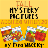 Fall Mystery Pictures Addition Within 20 ~ Fact Fluency