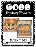 Fall Mystery Pictures: Numbers